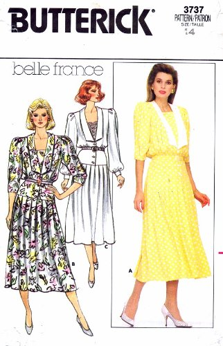 Uncut Vintage Butterick Pattern Dress - 3