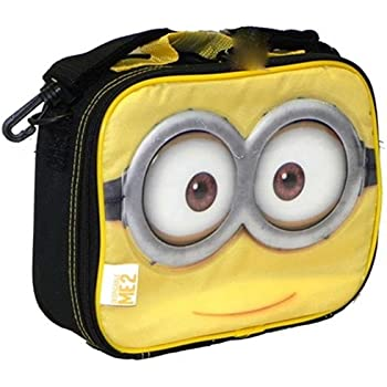 Despicable Me 2 Minion Lunch Bag Insulated Box - Yellow/black