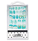 Justice Girls Just Shine Press-on Nails Pineapple Scented