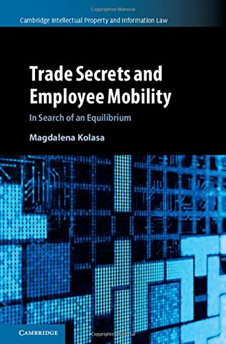 Trade Secrets and Employee Mobility : Volume 44: In Search of an Equilibrium