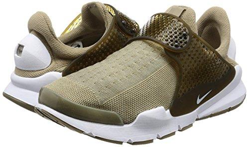 Nike Mens Calzino Dart Scarpa Da Corsa Kaki Bianco Cargo Kaki 200
