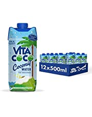 Vita Coco Coconut Water, Pure, 16.9 Ounce (Pack of 12)