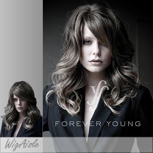 GLOW GIRL (Forever Young) - Synthetic Full Wig in 24BT18 (Caucasian Wigs)