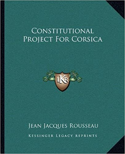 Constitutional Project for Corsica