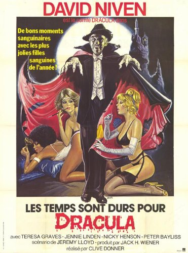 Old Dracula 11 x 17 Movie Poster - French Style A