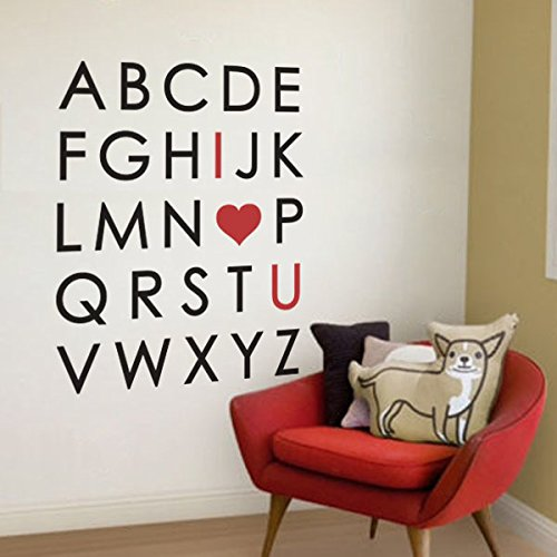 Nursery Stickers Removable Alphabet Letters product image