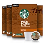 Starbucks Pike Place Roast K Cups, 96-Count