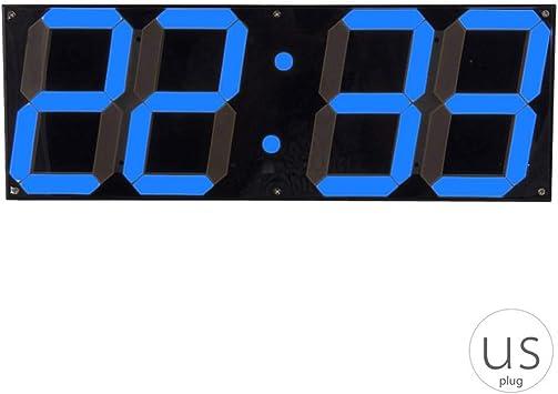 Gran Reloj de Pared Digital LED de Pantalla del Control Remoto ...