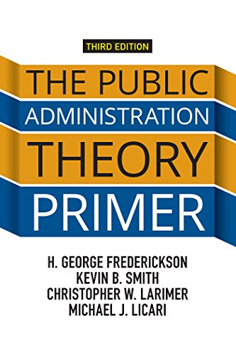 Download The Public Administration Theory Primer Pdf
