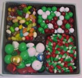 Scott's Cakes Large 4-Pack Deluxe Christmas Mix, Dutch Mints, Reindeer Corn, & Assorted Jelly Beans