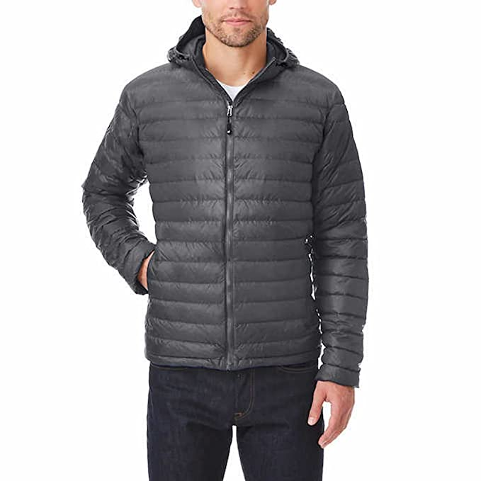 46d693b8598 Image Unavailable. Image not available for. Color  32 Degrees Heat Mens  Down Jacket With Hood ...