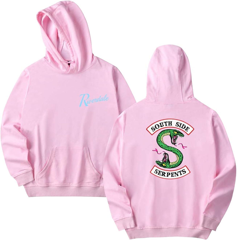 Unisex Riverdale Sudadera Serpientes Mujer Chicas Adolescente Sudaderas con Capucha Hombres Ni/ña Ni/ño Sudadera Deportiva Streetwear Manga Larga Moda