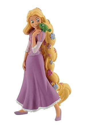 PRINCESAS Figura Rapunzel Con Flor de Rapunzel: Amazon.es ...