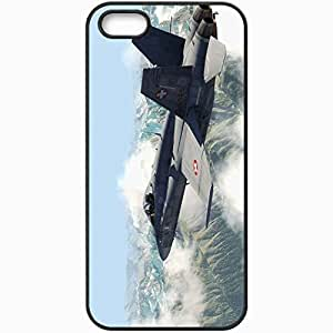Personalized iPhone 5 5S Cell phone Case/Cover Skin Aerofly Fs Black