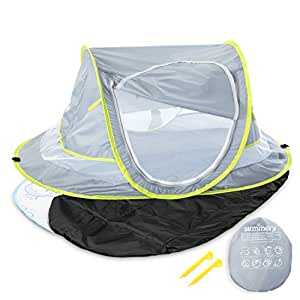 Added to your Cart  sc 1 st  Amazon.com & Amazon.com : Large Baby Portable Beach Play Tent Provide UPF 50+ ...