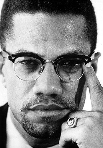 Close up Malcolm X Photo Print (24 x 30)