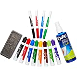 Expo Original Dry Erase Set, Chisel Tip, 15-Piece, Assorted Colors
