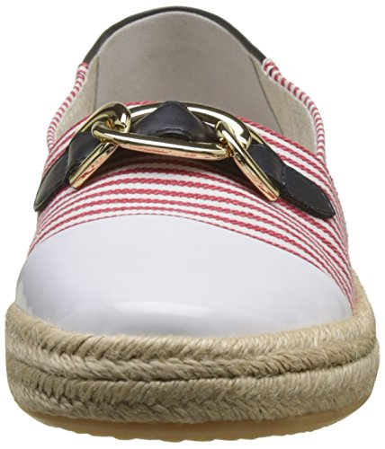 Basses E Femme Modesty Red Geox Sneakers White Navy UgcBqT