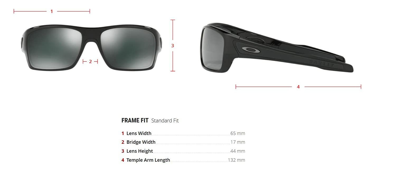 dd74b2e919 Amazon.com  Oakley Mens Turbine Active Sunglasses One Size Black  Ink Sapphire Iridium  Oakley  Clothing