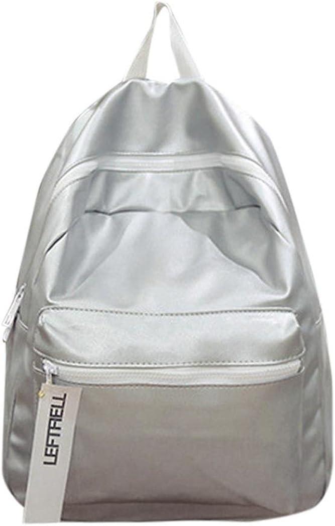 Clearance Sale Fashion Leather School Rucksack Bag Gripesack Backpack Handbag Bookbag ZYEE