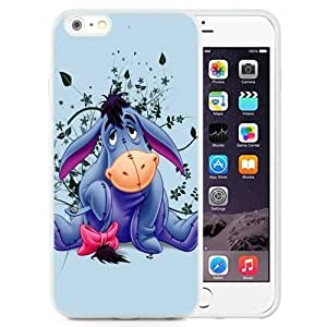DIY and Newest Iphone 6 Plus Case Design with Eeyore TPU Case for iphone 6 Plus 5.5 Inch in White Kimberly Kurzendoerfer