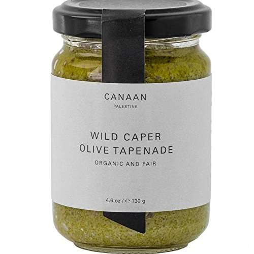 Canaan Tapenade Green Olive, 4.58 oz (Green Olive Tapenade)