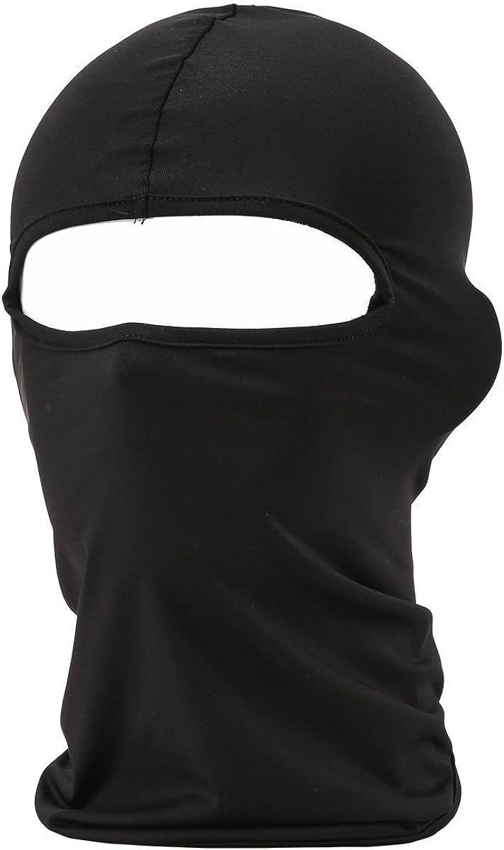 falapala Balaclava Tactical Face Mask Hood Neck Gaiter 1 Pack (Black) at  Men's Clothing store