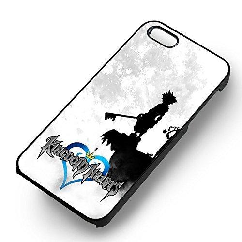 Kingdom Hearts Sora pour Coque Iphone 6 et Coque Iphone 6s Case (Noir Boîtier en plastique dur) X7G1FU