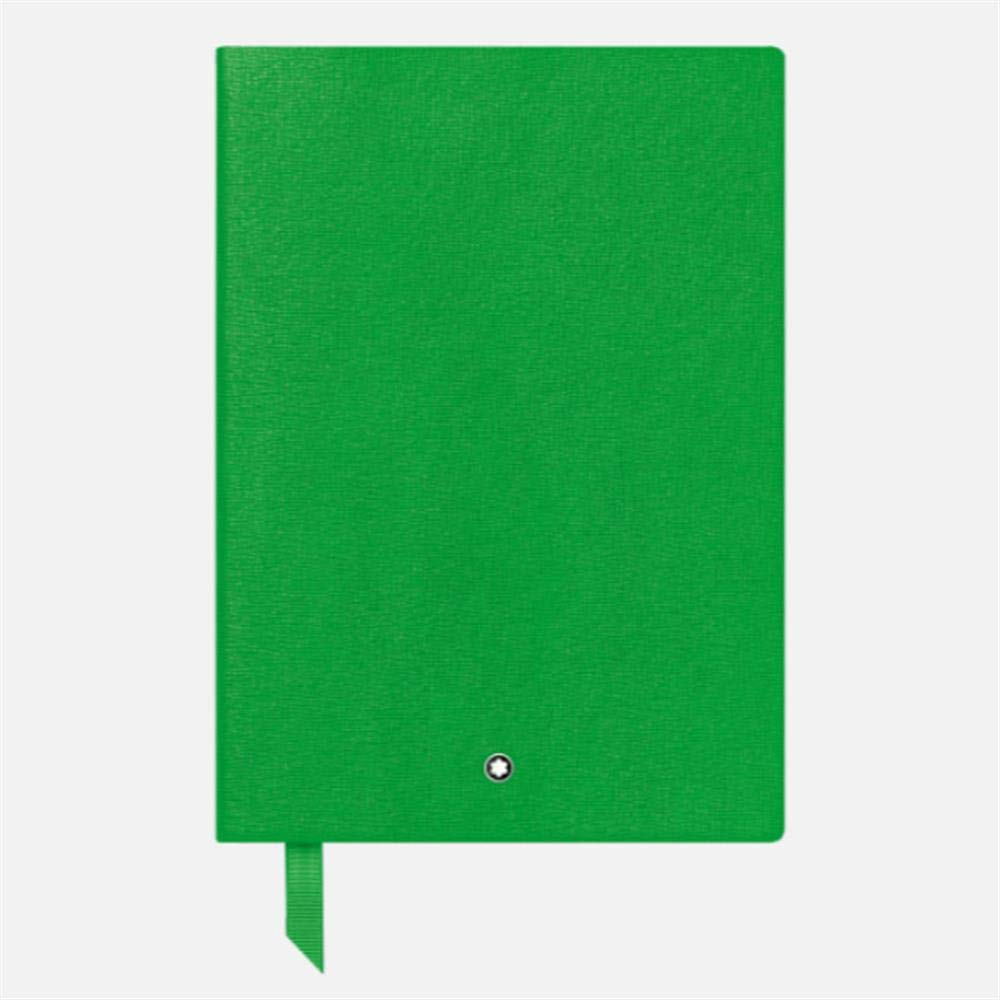 Montblanc Fine Stationary Unisex 146 Green Lined Leather Notebook Accessories 116518