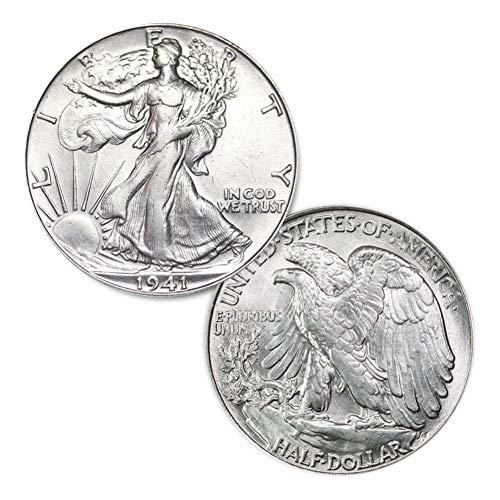1941 P Walking Liberty Half Dollar 50C Brilliant Uncirculated