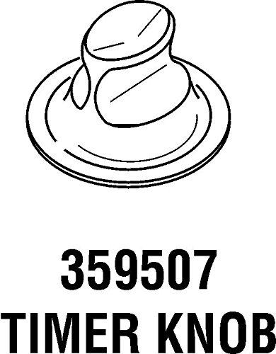 Kenmore 359507座金タイマーノブ B06ZYZ1FVN