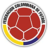 Colombia National Team Retro Soccer Football Art Decor Vinyl Sticker 5 X 5