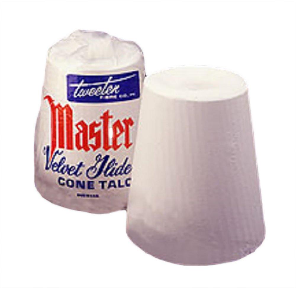 Master Tweeten Velvet Glide Hand Cone Billiard Chalk Talc by Master