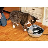 Smart Cat Stainless Steel Drinking Fountain
