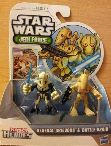 NEW! STAR WARS Playskool Heroes OBI-WAN KENOBI toy action figure JEDI FORCE