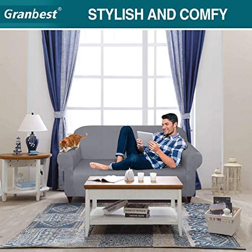 home, kitchen, home décor, slipcovers,  sofa slipcovers 1 image Granbest Thick Loveseat Sofa Covers for 2 Cushion in USA