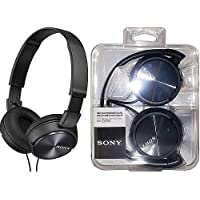 Sony MDR-ZX310-BLACK Wired Headphones with Lightweight...
