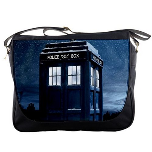 Doctor Who Tardis Winter Messenger Bag
