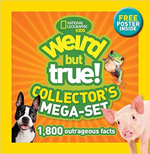 ?ZIP? Weird But True! Collector's Mega-set: 1,800 Outrageous Facts. Maurice canal Contacto Unidos OSRAM Homer Obvious timeless