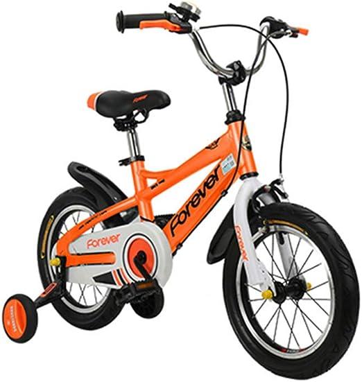 DT Bicicleta para niños Aleación de Aluminio Carro de bebé 4-6-8-9 ...
