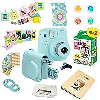 Fujifilm Instax Mini 9 Camera ICE BLUE + Accessory kit...