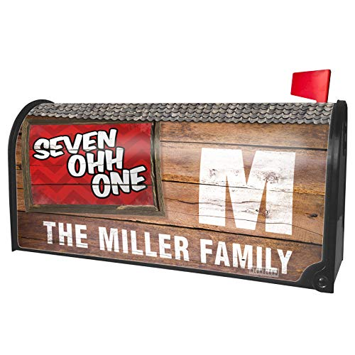 NEONBLOND Custom Mailbox Cover 701 Fargo, ND red]()