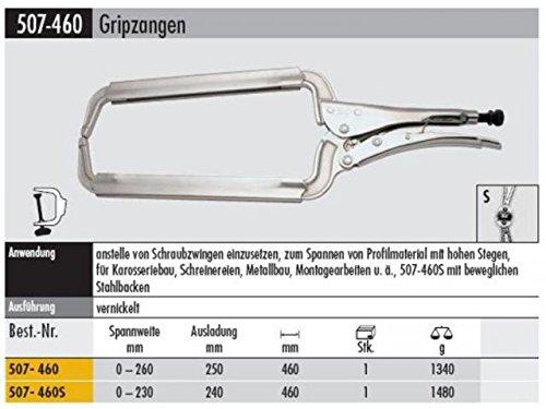 Elora 507104603000 C-Clamp Grip Plier 0-10.24''