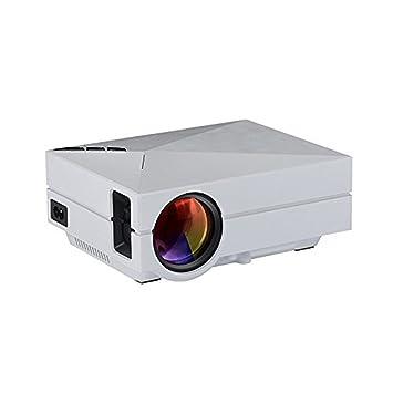 icase4u® GM60 portátil mini HDMI led proyector 1080P 1000 lumenes ...