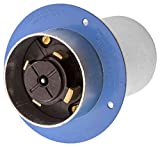Hubbell HBL26522 Hubbellock Flanged Inlet, 4 Pole, 5 Wire, 60 amp, 600V