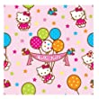 "Amscan Hello Kitty Balloon Dreams 16' x 30"" Printed Jumbo Roll Wrap"