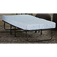DHP Folding Guest Bed with 4-inch Mattress, Twin Size