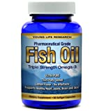 Fish Oil – Premium Pharmaceutical Grade Omega 3 Triple Strength Nutritional Supplements, Health Care Stuffs