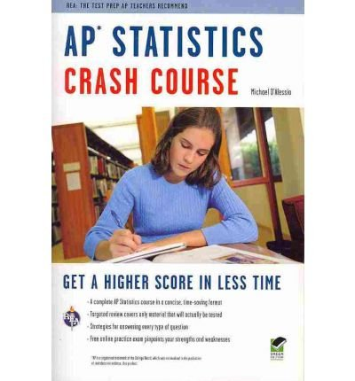AP Statistics Crash Course (Crash Course (Research & Education Association)) (Mixed media product) - Common