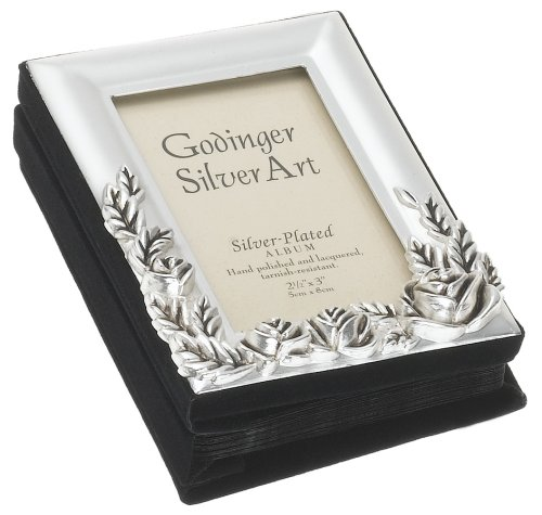 - Godinger Mini Album with Rose and Satin Finish